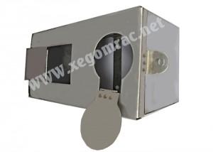 Hộp bảo vệ đồng hồ nước inox
