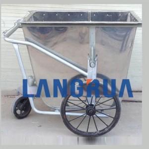 xe gom rác 500l inox giá rẻ tại xegomrac.net