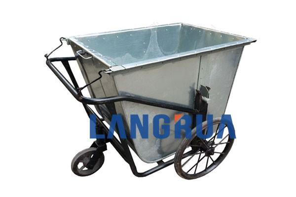 xe thu gom rác 400l inox giá rẻ